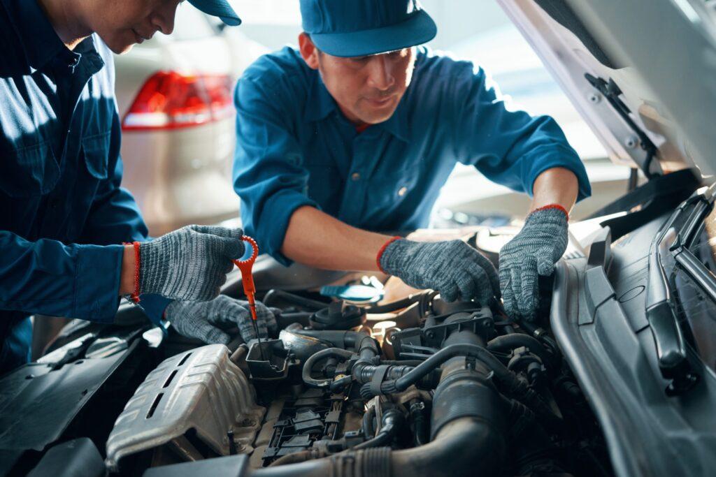 ремонт мотора авто