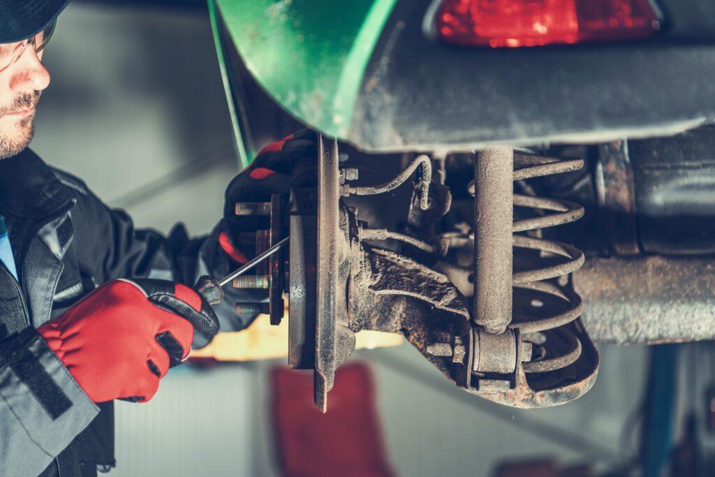 ремонт тормоза