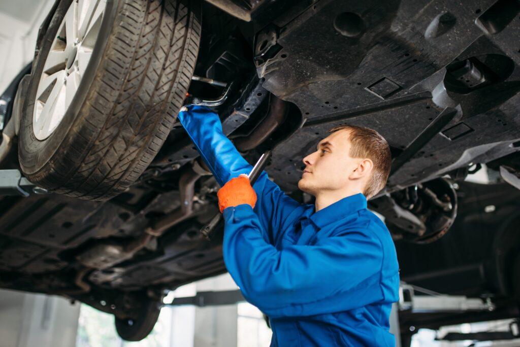 ремонт шасси авто
